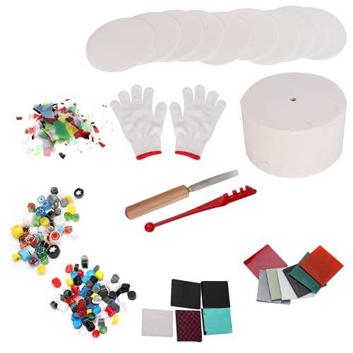 Artesanía Hornos de vidrio, joyería de alta eficiencia, herramientas de fusión de horno, bricolaje para hacer manualidades para joyas de bricolaje (10 piezas de horno pequeño)