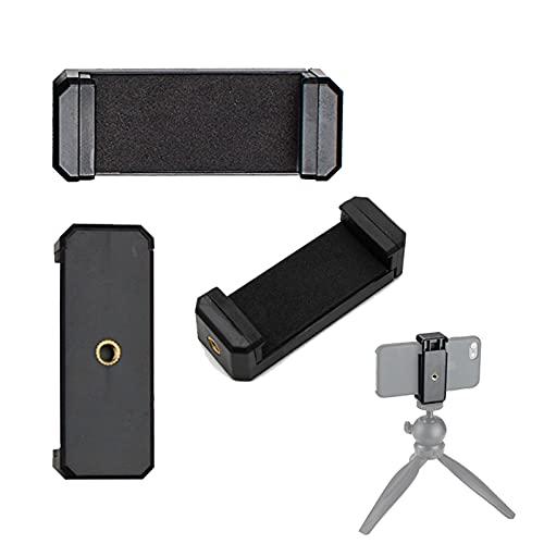 attacco smartphone Adurei Universale Supporto per Smartphone Sefie Treppiede Adattatore per Telefono iPhone 11 XS X 8/8 Plus 7/7 Plus 6/6Plus