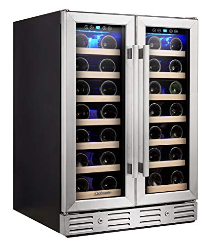 Kalamera Wine Cooler - Fit Perfectly into 24 inch Space Under Counter or...