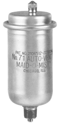 Maid-O-Mist 71 Auto-Vent No, 4.8