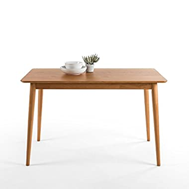 Zinus Mid-Century Modern Wood Dining Table / Natural
