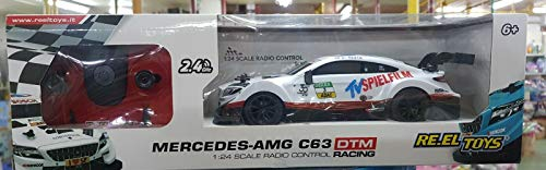 RE.ELTOYS RADIOCOMANDO Auto 1:24 Mercedes-AMG C63 DTM