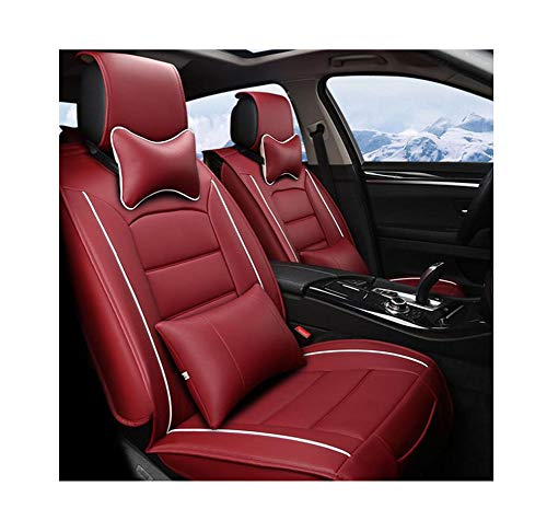 Fantastic Deal! DESTRB Autumn and Winter All-Inclusive Car Seat Cushion Full Leather Car Seat Car Un...