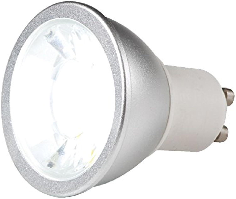 Knightsbridge LED-Leuchtmittel, GU10, 7 W, 6.000 K, Tageslicht-Weiß, dimmbar) GUCOB7DL B00SMJP57O | Charakteristisch
