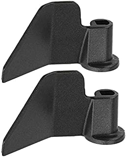 Dciustfhe 2 Pack Carbon Steel Non-Stick Coating Breadmaker Paddle, Replacement Parts Paddle for Bread Maker Machine