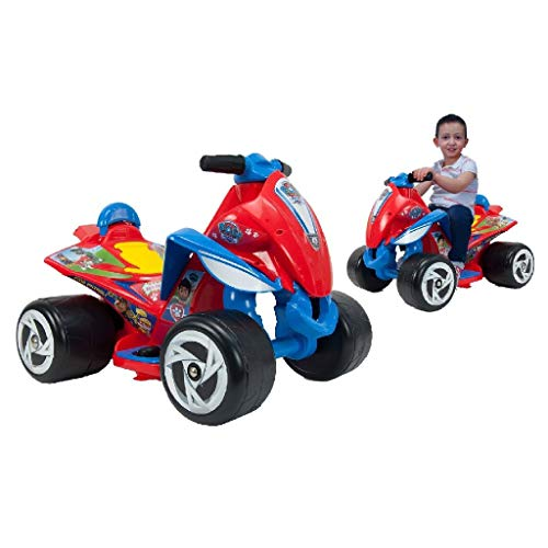 Quad in Rot für Kinder ab 12 Monate Paw Patrol 6V
