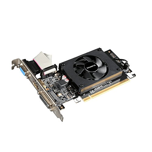 Gigabyte GeForce GT 710 GV-N710D3-2GL REV2.0 Grafikkarte 954 MHz 2048 MB PCI Express