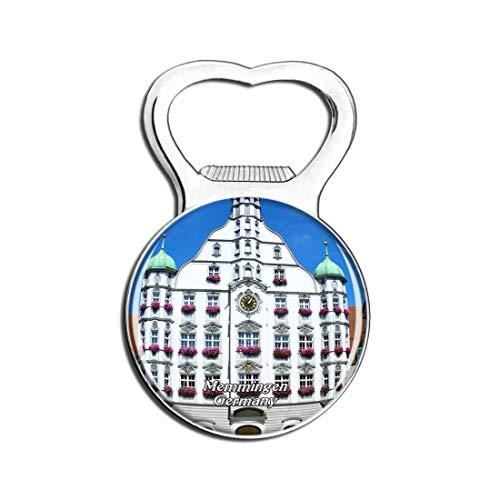Rathaus von Memmingen Deutschland Bier Flaschenöffner Kühlschrank Magnet Metall Souvenir Reise Gift