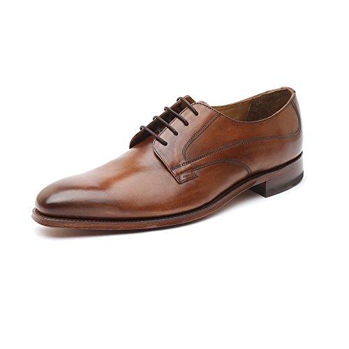 Gordon & Bros Milan 5098-A Herrenschuhe Herren Businessschuhe, Schnürhalbschuhe, Anzugsschuhe, Derby Schuhe, Goodyear Braun (Alameda Brown), EU 43