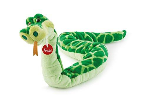 Trudi - Peluche Serpiente Cyrano, Color Verde (Trudi SPA 27765)