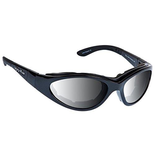 Ugly Fish Motorradsonnenbrille Slim Photochromic Smoke