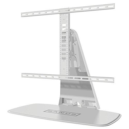 Sanus wstv1drehbaren Universal-TV-Ständer für 32–152,4cm Bildschirme und Sonos Playbase/Playbar–Weiß