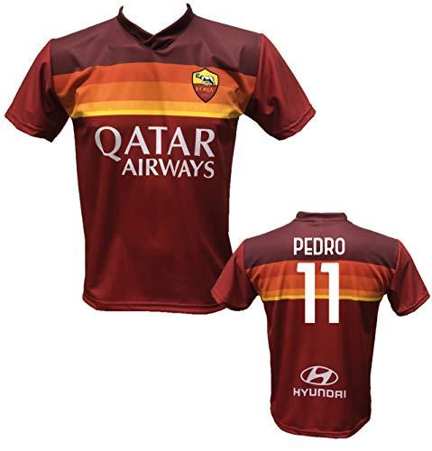 DND di D'Andolfo Ciro Camiseta de fútbol Home Pedro 11 Roma, réplica...