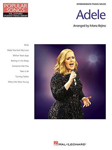 Adele: Popular Songs Series: Noten, Sammelband für Klavier: 8 Beautiful Arrangements for Intermediate Piano Solo (Popular Songs: Hal Leonard Student Piano Library)