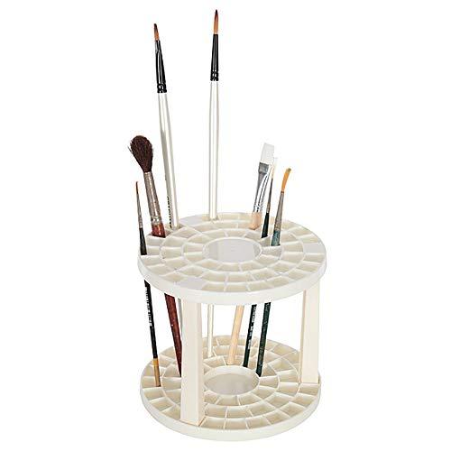 Artina Soporte para pinceles Brocha portalápices 49 compartimentos para brocha lápices Artista requisitos & más - Auténtica Milagro del espacio