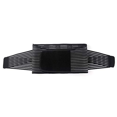 LIUHONGSU Soporte Lumbar  Wrap for Recovery, Workout, Herniated Disc Pain Relief  Cinturón de Adelgazamiento de Cintura (Color : Negro, Size : M)