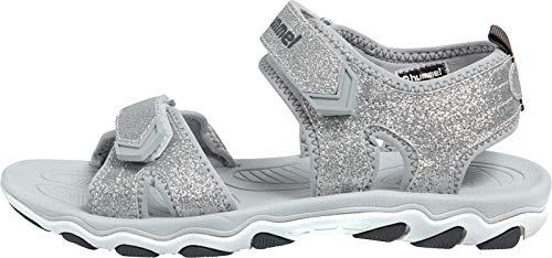 hummel Mädchen Sandal Glitter JR Sneaker