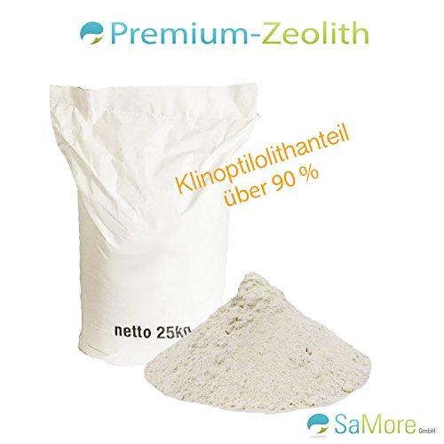 25 kg de zéolite Grain 0–50 µm Filtre Matériau zeoliet éliminateur Zeolite Zéolite en poudre ceolith – Livraison gratuite au sein de l'Allemagne