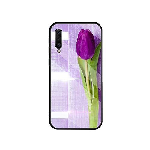 Phonecase - Carcasa de cristal templado para Samsung Galaxy A 10S, 10E, 20S, 20E, 30S, 40, 50S, 60, 70, 80, 90, 6, 7, 8, para A6 2018