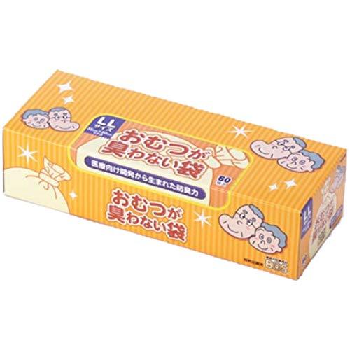 クリロン化成 おむつが臭わない袋BOS 大人用 箱型 LL ...