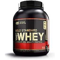 Optimum Nutrition ON Gold Standard 100% Whey Proteína en Polvo Suplementos Deportivos, Glutamina y Aminoacidos, BCAA, Extremo Chocolate con Leche, 71 porciones, 2.27 kg, Embalaje puede variar