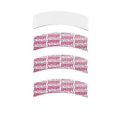 Cinta de peluca para pelucas de encaje,36pcs REOU resistente al agua adhesivo de doble cara cinta frontal de encaje, blanco