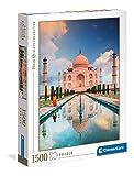 Clementoni- Taj Mahal Puzzle Adulto, Multicolor (31818)