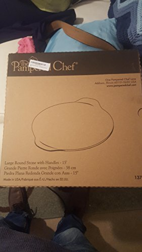 The Pampered Chef Large Round Stone