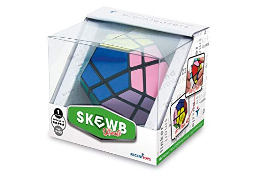Cayro -Skewb Ultimate - Juguete de ingenio - Desarrollo de Habilidades cognitivas e inteligencias múltiples - Juego para niños y Adultos (R5034)