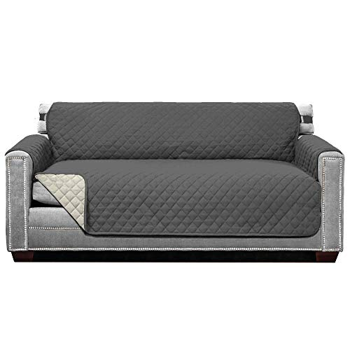 Sofa Shield Original Large Sofa Protector, Width to 70 Inch, Furniture Slipcover With 2 Inch Strap
