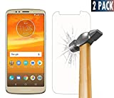 Protection d'écran en verre trempé - Pour Motorola Moto E5 Play - Installation facile sans bulle -...