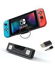 Lioncast Adapter Bluetooth, z Kluczem Audio i Aptx, Do Zestawów Słuchawkowych Bluetooth, Kompatybilny z Nintendo Switch / Switch LITE, PS5, PS4, Mac i PC, Zasięg 10 metrów Bluetooth 5.0