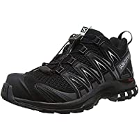 Salomon XA Pro 3D W Zapatillas de trail running Mujer, Negro (Black/Magnet/Fair Aqua), 38 2/3 EU (5.5 UK)
