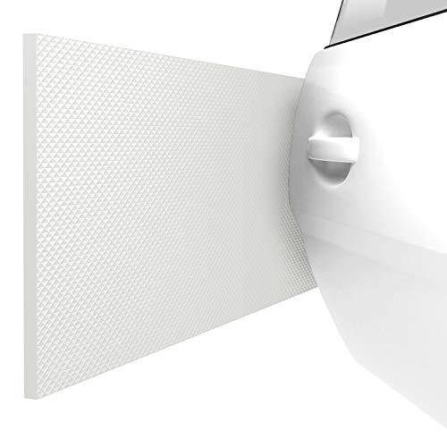 ATHLON TOOLS 2X FlexProtect Protectores para Pared de Garaje, Cada uno de 2 m de Largo, Protector extragrueso del Borde de Puertas, autoadherente, Impermeable