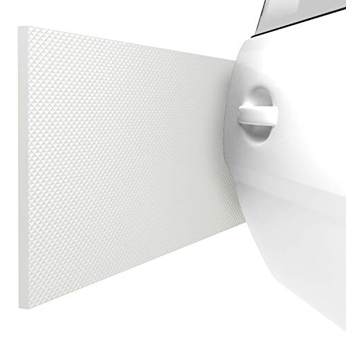 ATHLON TOOLS 2X FlexProtect Garagen-Wandschutz - Klimaneutral - je 2 m lang - Extra Dicker Auto-Türkantenschutz, Selbstklebend, Wasserabweisend