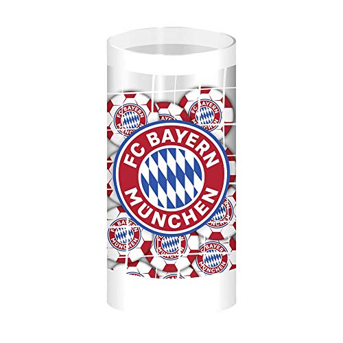 Schoko-Fußbälle, Schokoladen-Bälle, Schoko-Kugeln - Team-Schokolade aus Fairtrade-Kakao in hübscher Geschenk-Dose (125 g) (FC Bayern München)