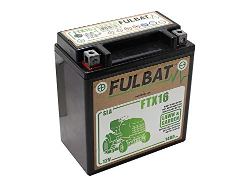SECURA Batterie 12V 14Ah kompatibel mit Husqvarna TC 138L 96051018900 Rasentraktor