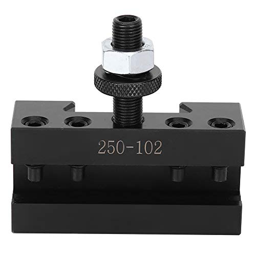 %11 OFF! Corrosion Resistance Lathe Tool Post Accessories, Tool Post Accessories Set, 250-102 Column...