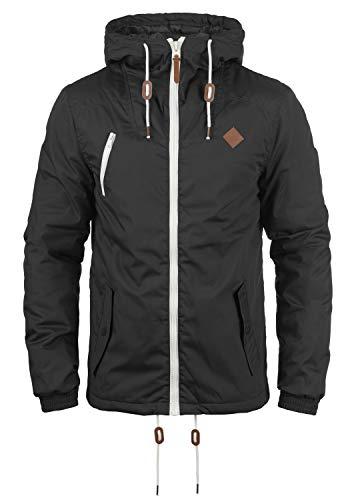 !Solid Tilden Herren Übergangsjacke Herrenjacke Jacke gefüttert mit Kapuze, Größe:M, Farbe:Dark Grey (2890)