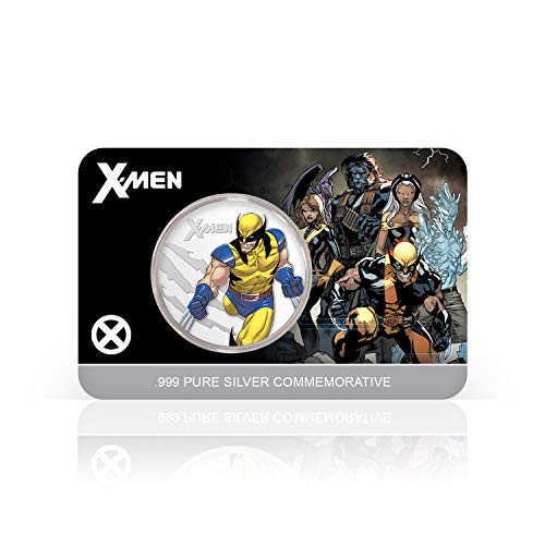IMPACTO COLECCIONABLES X_Men Marvel Offizielle Gedenkmünze - Reines Silber 32mm