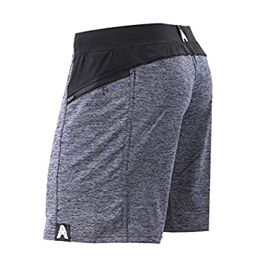 "Anthem Athletics Hyperflex 7"" Workout Training Gym Shorts - Iron Rhino Grey G2 - XX-Large"