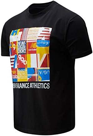New Balance Camiseta de Manga Corta para Hombre Kenji tee - MT01523 BK