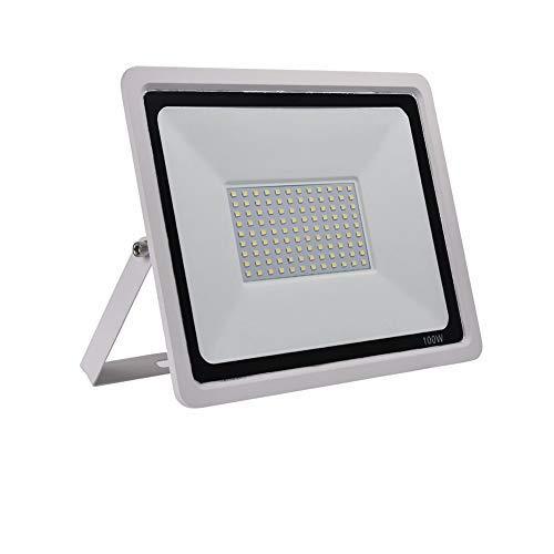 Faretto LED da Esterno Proiettore 50W, Luce di Inondazione Esterna 5000LM, 6500K Bianco Freddo Impermeabilità IP67 Luce a Muro, per Cortile, Terrazza, Piazza (Bianco Freddo, 50W)