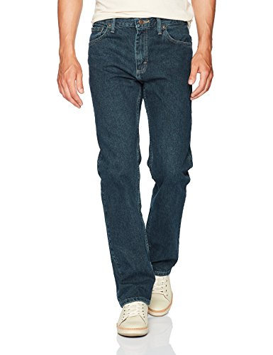 Wrangler Authentics Men's Classic Straight Fit Jean, Antique Dark, 33W x 30L