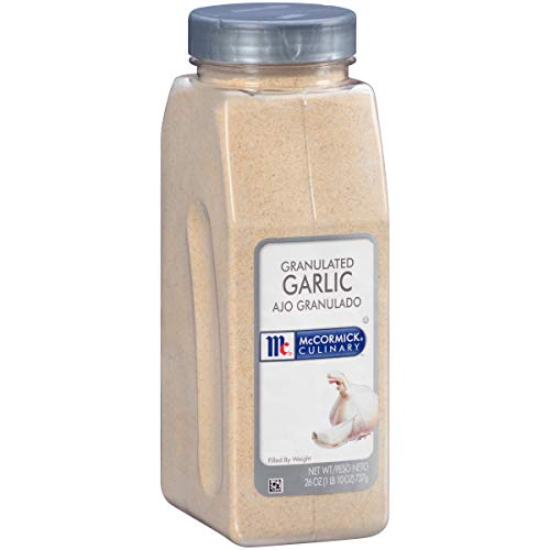 small McCormick Culinary Granular Garlic, 26 oz.