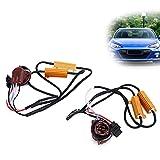 Decodificador LED, cancelador antiparpadeo de 50 W para faros delanteros de automóviles