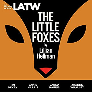 The Little Foxes audiobook cover art