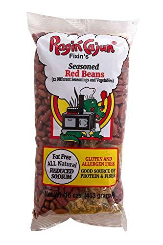 Seasoned Red Beans 16 oz Ragin' Cajun (Pack of 6)