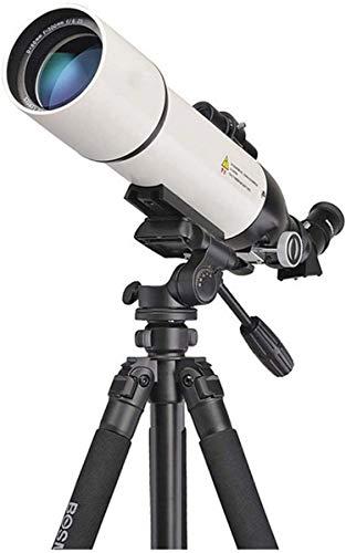Telescopio National Geographic, telescopio refractor astronómico de longitud focal de 500 mm, visión nocturna con poca luz resistente al agua HD, para observar la luna y el paisaje, con telescopio ti