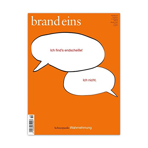 brand eins audio: Wahrnehmung audiobook cover art